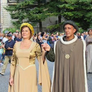 """I costumi realizzati dalla compagnia teatrale """"I Monachellari"""""""