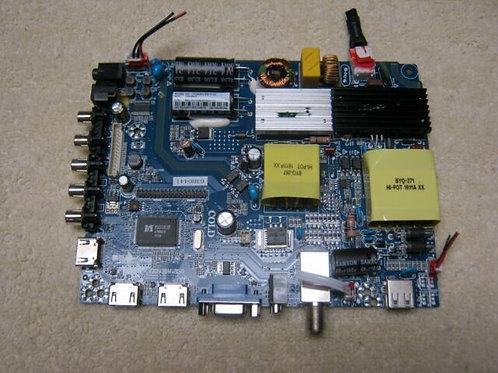 POWER SUPPLY/MAIN BRD CV3393BH-B50-11-X3 SANSUI SLED5515W