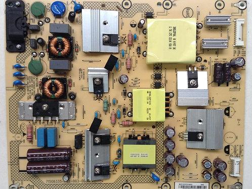 POWER SUPPLY PLTVFY721XXD1 SHARP LC-50LB371U