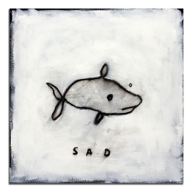 A SAD FISH BY A HAPPY KAZ