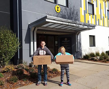 Rig Way was able to donate 450 FitsBrushes to the Rockford Rescue Mission