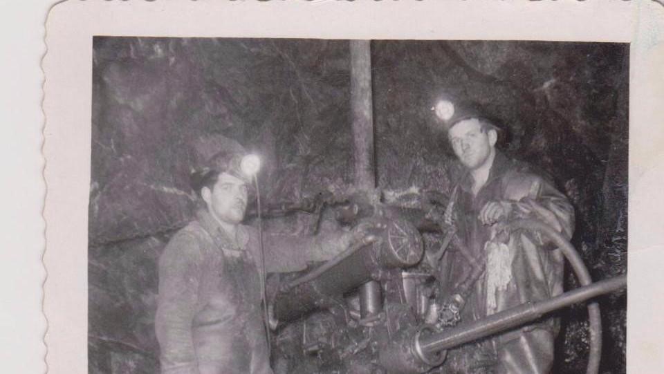Mineurs dans la mine Barvue de Barville