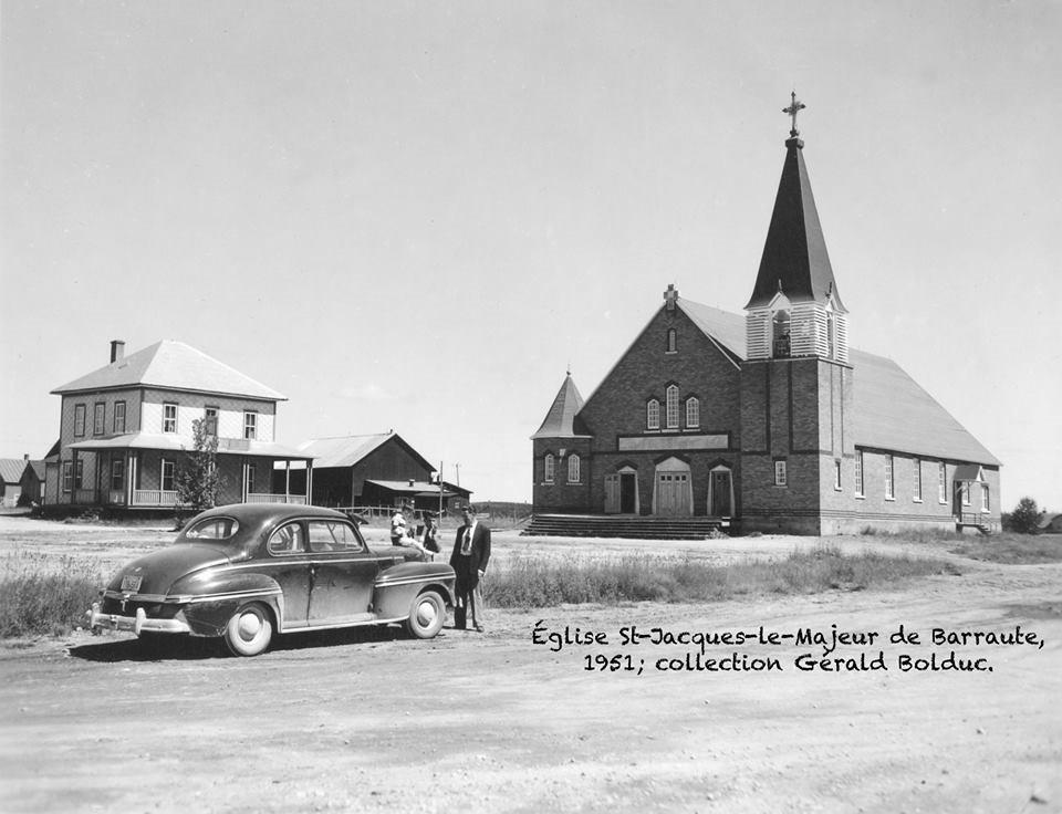 Église St-Jacques-le-Majeur de Barraute