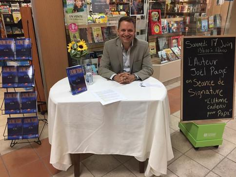 Séance de dédicaces à la Librairie au boulon d'ancrage - Rouyn-Noranda - Juin 2017