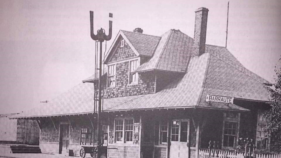 Ancienne gare de Barraute