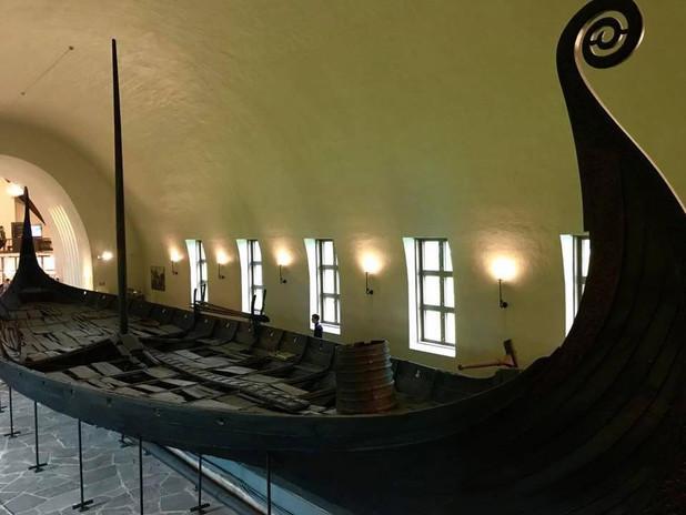 Musée des navires vikings d'Oslo - Août 2018