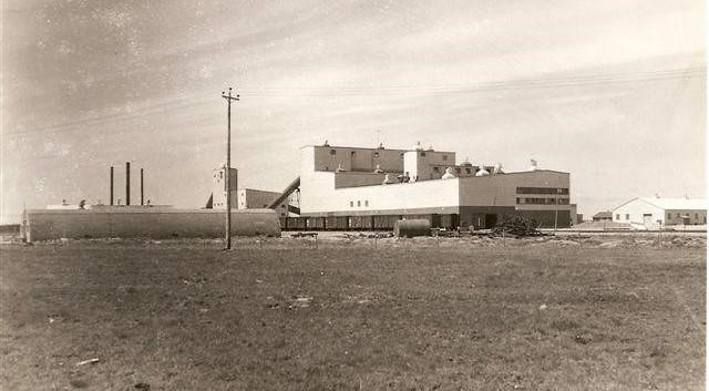 Infrastructures de la mine Barvue de Barville terminé