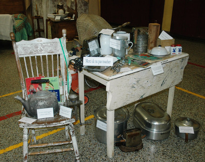 Exposition d'objets anciens