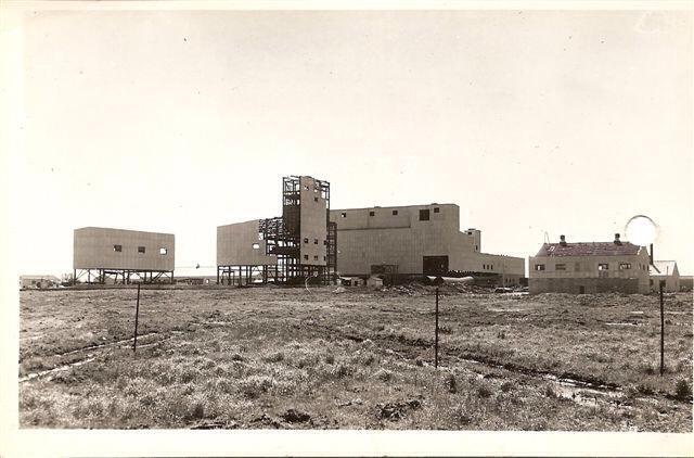 Construction de la mine Barvue de Barville