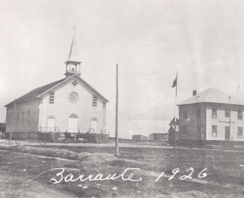 Première église de Barraute