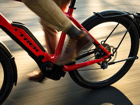 Vélo électrique + bosh TREK chez Cycles