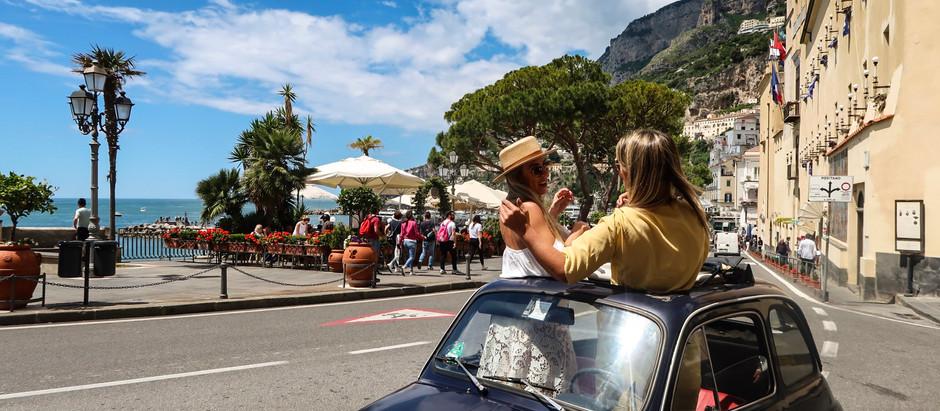 Não venha para a Costa Amalfitana de carro