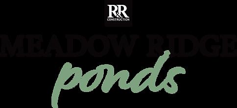 R&R Construction's Meadow Ridge Ponds