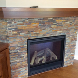 Fireplace - High Grove Model