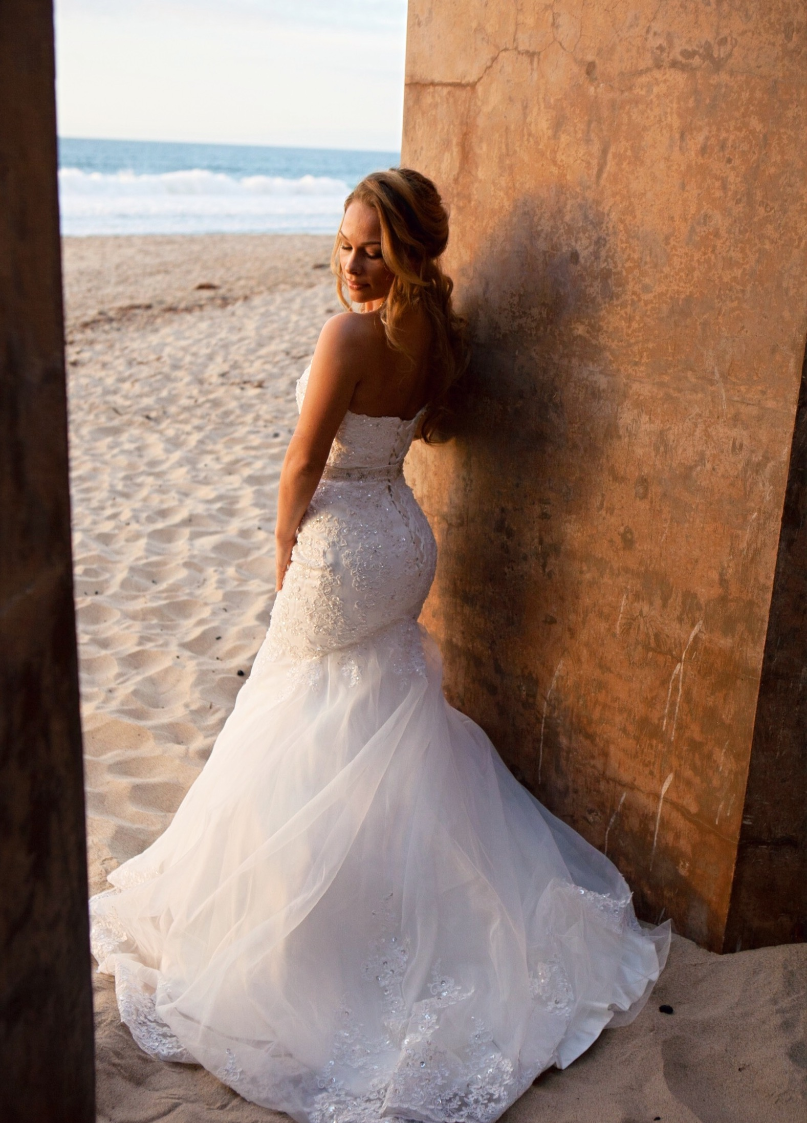 Bride Beach Wedding