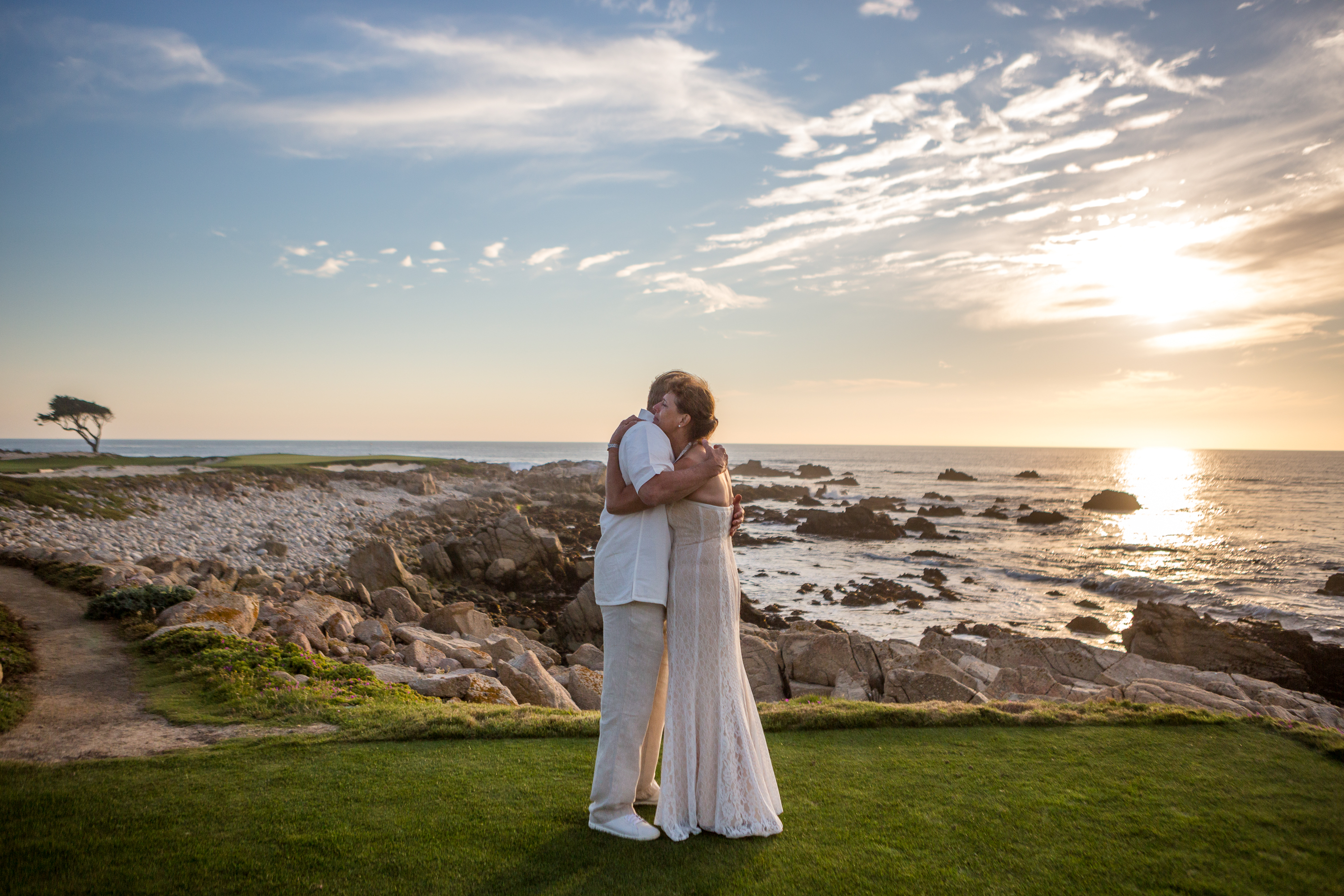 Pebble Beach Elopement