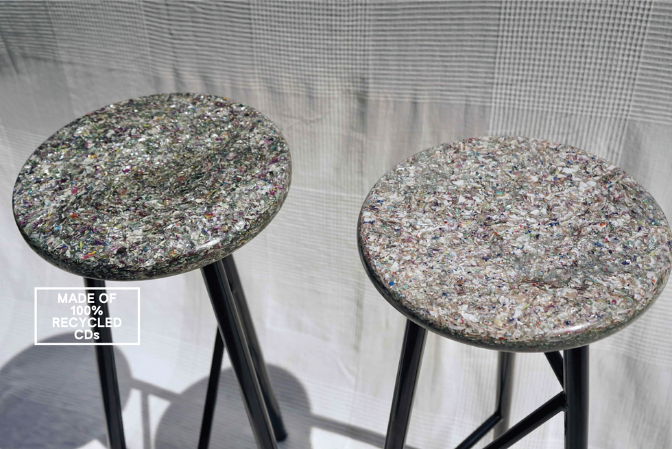 Recycled Plastic Bar Stool