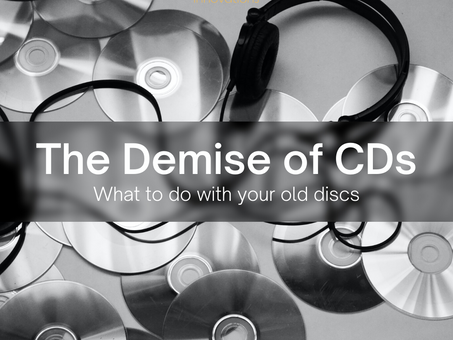 The Demise of CDs – What to do with your old CDs