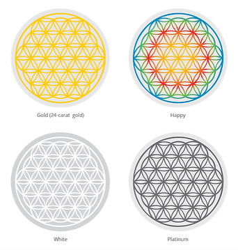 Available flower of life symbols for Nature's Design products