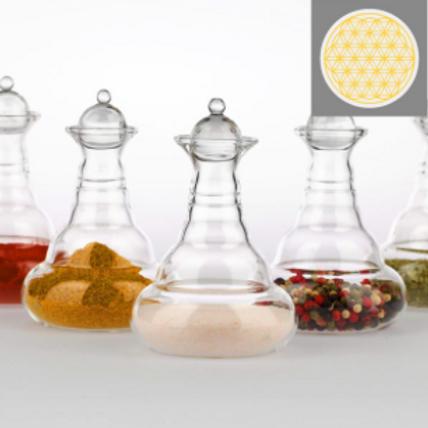 Carafe Miniverse Gold – 0.1 Liter