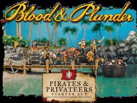 Comenzando con... Blood & Plunder (Pirates & Privateers Set)