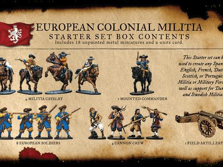Comenzando con... Blood & Plunder (European Colonial Set)