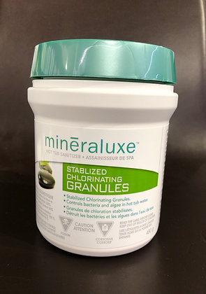 Mineraluxe Stabilized Chlorine Granules 480g