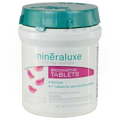 Mineraluxe's Bromine Tablets