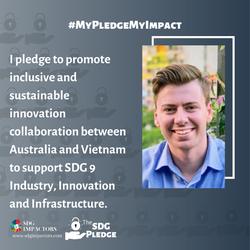 James Fairley SDG Pledge
