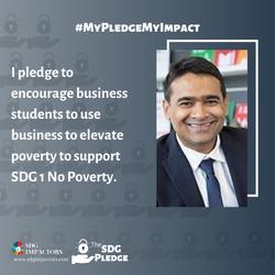 Ranjit Voola SDG Pledge