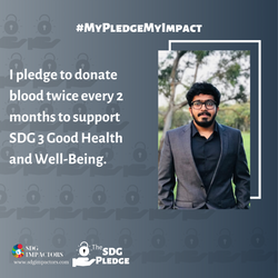 Lalith Kishorr Sivakumar SDG Pledge
