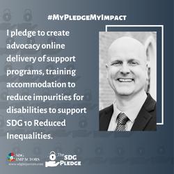 Trent Dean SDG Pledge