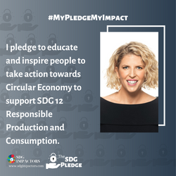 Jaine Morris SDG Pledge