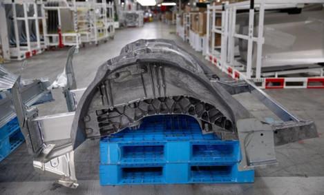 Tesla shows massive generatively designed part in Model Y underbody
