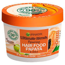 Garnier Ultimate Blends Papaya & Amla Hair Food Review