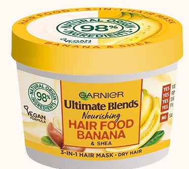 Garnier Ultimate Blends Banana & Shea Hair Food Review