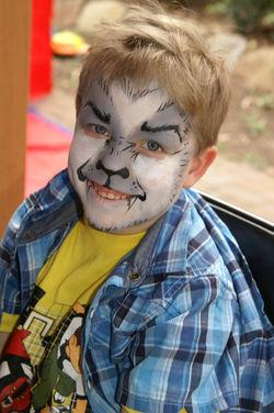 Werewolf Face Painting Brisbane