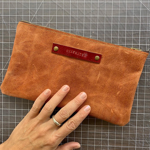 "Leather bag ""Always Handmade"" #801"