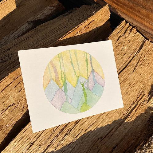 Mountain Drops print