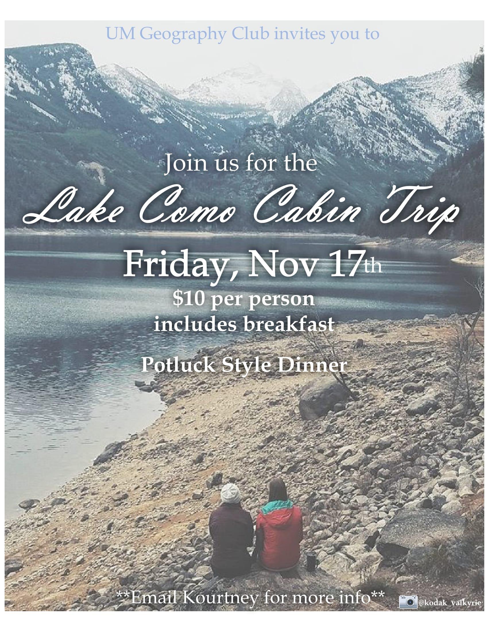 Lake Como flyer