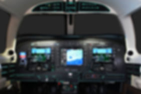 Modern avionics, glass panel