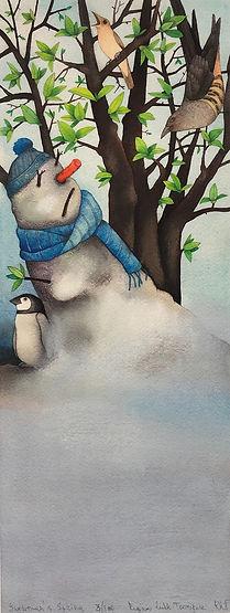 春の訪れ _Snowmans Spring_.jpeg