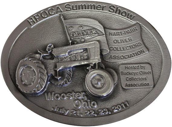 2011 HPOCA Summer Show Belt Buckle