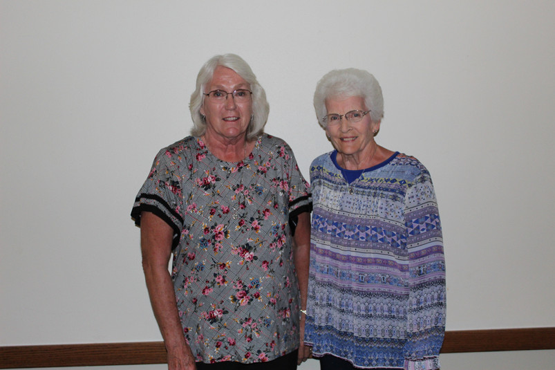Janet Erwin and Karen Jones grandaughter
