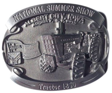 2015 HPOCA Summer Show Belt Buckle