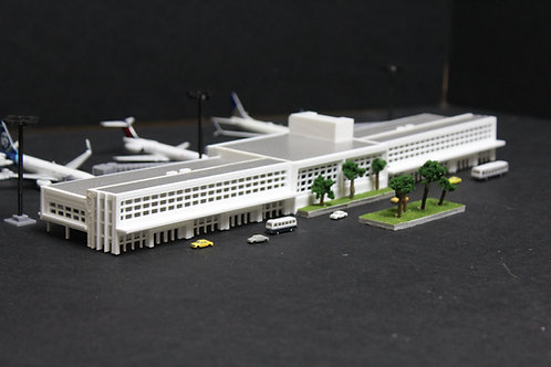 1/400 Scale Rectangular Terminal