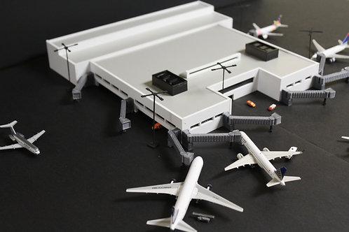 Fort Lauderdale International Airport Terminal 2 1/400 Scale Replica