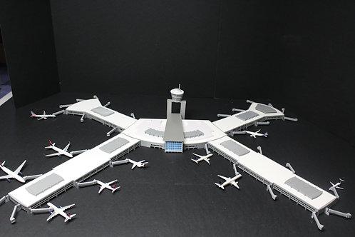 1/400 KLAS Las Vegas McCarran Intl. Model Airport Terminal