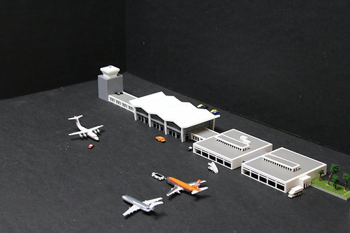 1/400 Scale BKL Burke Lakefront Terminal and FBO