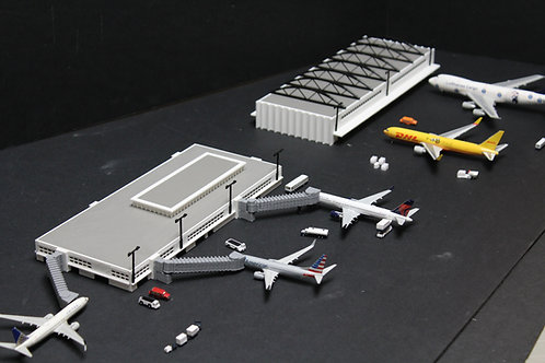 1/400 Updated Passenger Terminal and Cargo Terminal #790